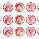 Strawberry shortcake Bottlecap image
