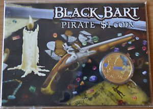 AUSTRALIA 5 COIN SET TUVALU $1 PIRATES OF CARIBBEAN 2010-2011 FROM PERTH MINT