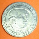 GERMANY 5 MARK UNC CUNI COIN 1982 JOHANN GOETHE UNC