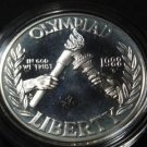 US SILVER DOLLAR 1988 S OLYMPIC PROOF COMMEMORATIVE COIN