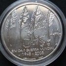 PORTUGAL 8 EURO SILVER COIN 2005 GUERRA MUNDIAL MINT UNC IN CAPSULE