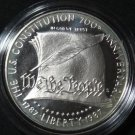 US SILVER DOLLAR 1987 S CONSTITUTION BICENTENNIAL PROOF COMMEMORATIVE COIN