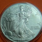 USA AMERICAN SILVER EAGLE 2000 UNC CONDITION SILVER COIN