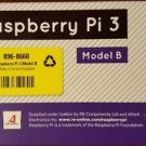 RASPBERRY PI 3 MODEL B - MADE IN UK - WiFi & BLUETOOTH-64 bit CPU MODEL 2016 NEW