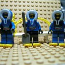 ~LEGO Arctic Mini Fig Minifigures ~ Blue Parka ~ Snow Shoes Pack Stretcher