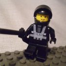 1016] LEGO Town City Minifigure ~ Space Man ~ NASA Astronaut Black