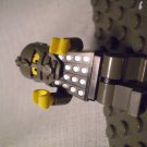 1017] LEGO Town City Minifigure ~ Underwater Explorer ~ Man Grey Armor
