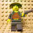 [459] Lego Adventurers Minifigure ~ Mr. Cunningham ~ 5955 Revolver Indiana Jones