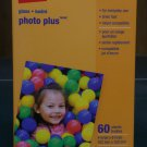 "Lot of 5 - Staples Photo Plus Paper, 4"" X 6"", Gloss, 60/pack (300 sheets total)"
