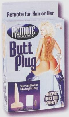 Remote Control Butt-Plug