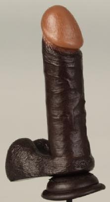 """6"""" Realistic Cock Black"""