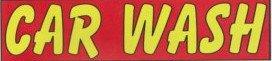 10ft CAR WASH BANNER 3x10ft