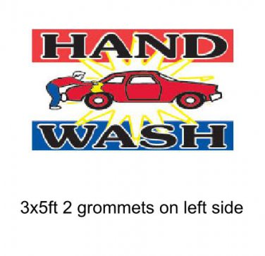 HAND WASH 3x5ft Banner Advertising Business Sign Flag