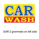 CAR WASH 3x5 ft Banner Advertising Business Sign Flag - CAR WASH