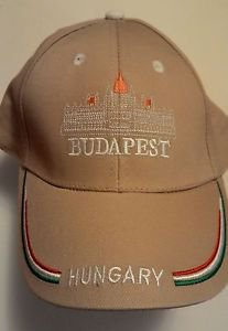 Hungarian Parliament Budapest Hungary Embroidered Hat/Cap Sapka