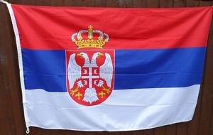 SERBIA COUNTRY  Sign Flag 3x5ft advertising  banner sign