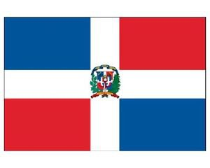 DOMINICAN REPUBLIC COUNTRY  Sign Flag 3x5ft advertising  banner sign
