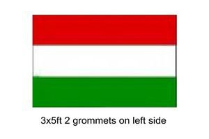 Hungary COUNTRY  Sign Flag 3x5ft advertising  banner sign magyar zászló