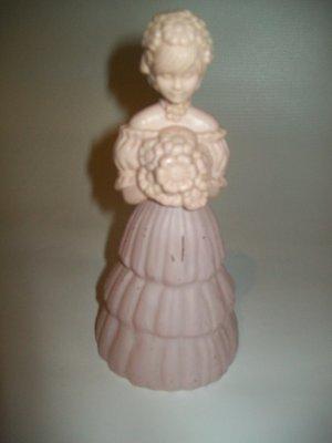 Vintage Avon Garden Girl Deco Perfume Bottle 1970's