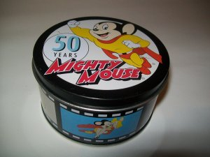 Mighty Mouse Tin 2005 collectible