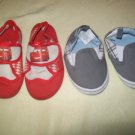 Disney's Cars Water shoes szS 5/6 and Gymboree baby Shoes sz 4