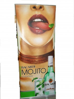 Bacardi Mojito Retractable Banner