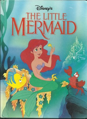 """The Little Mermaid"" Hardcover Book"