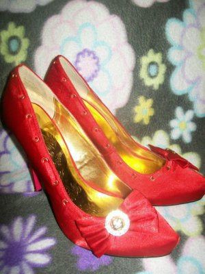 Red Apple Bottoms High Heels/ Stilettos sz 8 1/2