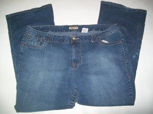 Paris Blues Jeans Womans Plus Sz 22