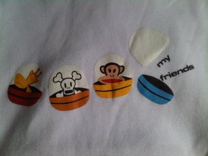 paul frank monkey SMALL CLOTHES CLOTHING WOMEN&#039;S GIRL&#039;S ACCESSORY