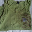 US JEANS COMPANY TANK TOP GREEN M CLOTHES CLOTHING WOMEN'S GIRL'S ACCESSORY
