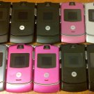 10 Lot of Motorola V3 RAZR Unlocked GSM Cell Phones