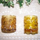 Amber Sconces  Two Very Pretty