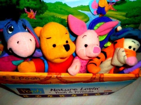 Original Pooh Bear and friends New