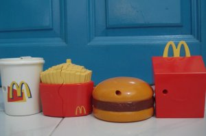 MacDonald Fast Food Full set