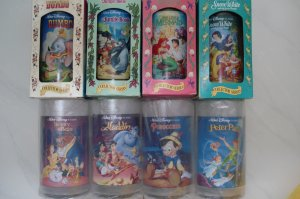 Brand New Burger King Disney cup Complete set of 8