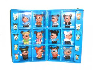 Complete set mickey mouse figuring with Box