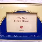 Little Olde School House Teacher Picture Frame Gift