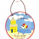 Shopping Girl fashion wall hanging plate Girly