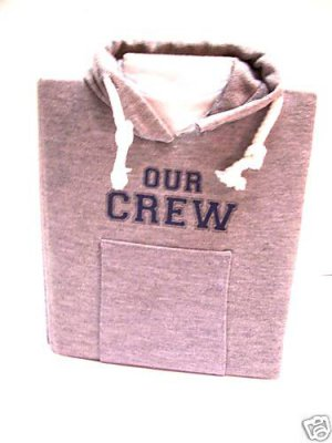 Our Crew sweatshirt photo album holds 4 x 5 inch photos