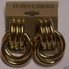Gold toned knot Fashion Earrings