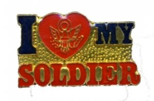 I love my Soldier Pin Army
