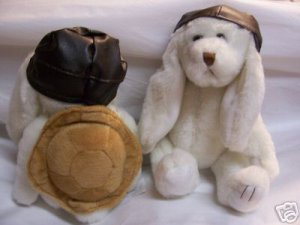 Cherrydale Farms Plush Bunny Rabbit aviator Pilot
