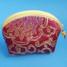 Rose Color Chinese Fortune Cookie coin Purse Pouch