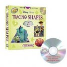 Disney Pixar Tracing Shapes Learn aloud Book and CD
