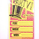 Special Occasion Party Invitations Best in Town glitter