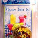 Cocktails all occassion Invitations Combo Pack confetti
