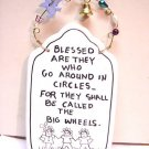Blessed Quote tile sign wall decor plaque