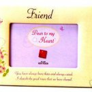 Dear to my Heart Picture Frame - Friend by Russ