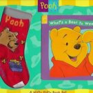 What&#39;s a Bear to Wear? Winnie the Pooh Bear book socks
